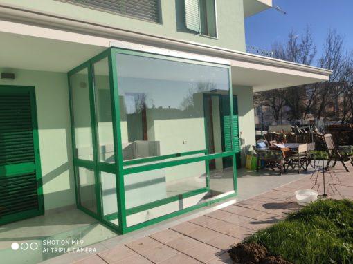 Villa Zolino con serra solare Imola