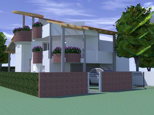 Villa con giardino Bagnacavallo