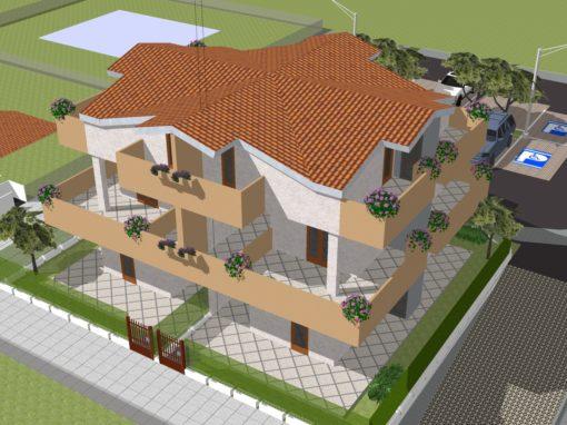 Casa con giardino a Zolino