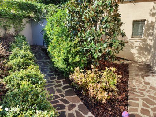 Villa Quartiere Campanella con giardino a Imola – Bologna U2