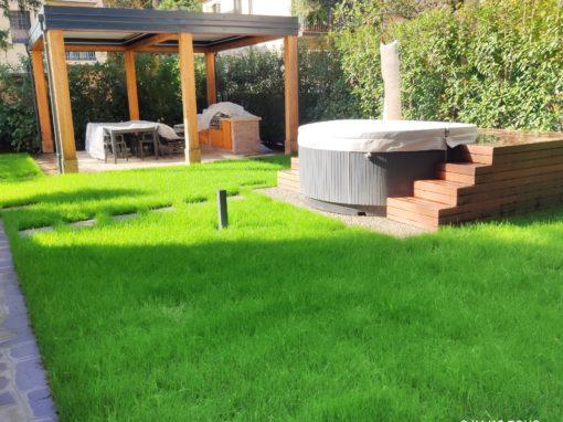 Villa Quartiere Campanella con giardino a Imola – Bologna U1